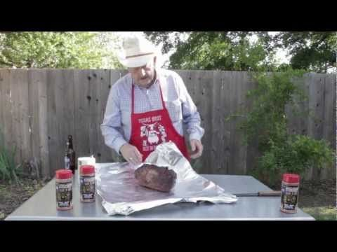 How To BBQ Cook a Boston Butt - In our Part 2 of our BBQ Smoked Boston Butt (pork shoulder) instructional cooking video with Lee Heiskell from Texas Brothers BBQ. The key is dry rub and cooking the meat slow and low. Here is the link to view Part 1 https://www.youtube.com/watch?v=THXzOkE9E7o