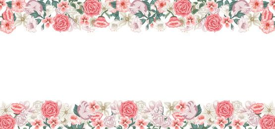 Beautiful Flowers Card Background To Write A Dedication Vector Flowers Flower Backgrounds Flower Cards
