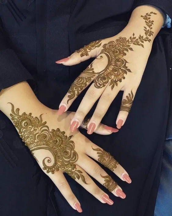 جاليري جنتنا رسومات حنة سهلة جدا على اليد In 2021 Henna Tattoo Hand Hand Henna Modern Henna Designs