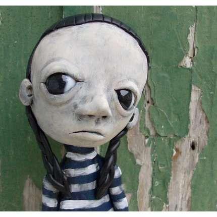 anthropomorphic goth doll