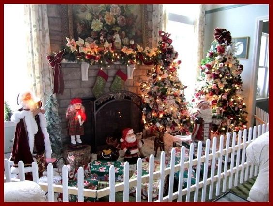 Artificial Tree, Lace Tablecloths And Tablecloths On Pinterest