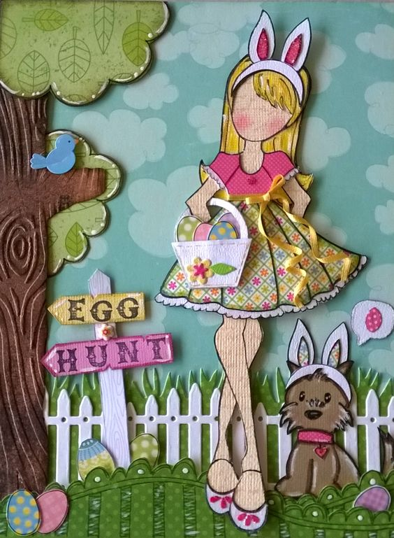 March journal page- Candie doll ♥  By Daniela Alvarado.