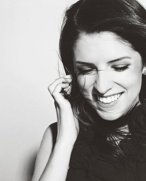 Anna Kendrick. Role model. Seriously. Unbelievably stunning.