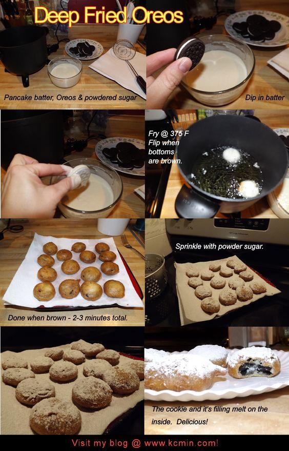 Deep Fried Oreos Free & Easy Recipe