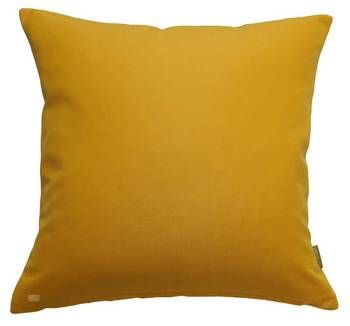 Sunflower Yellow Outdoor Canvas 43cm Cushion Cover .See also our full range of designer cushions online.