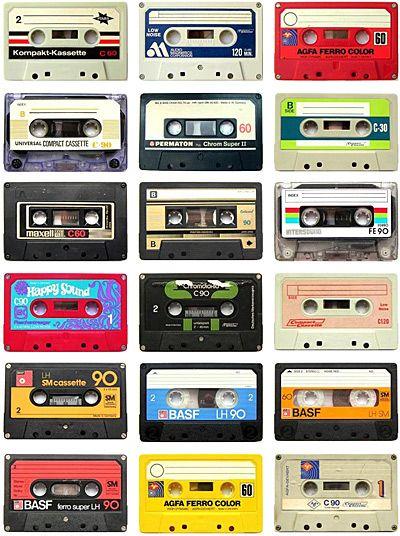 As vellas casettes dos anos 70!