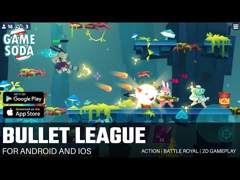 Bullet League 2d Battle Royale Gameplay For Android And Ios Gamesoda Youtube In 2021 Free Mobile Games Gameplay Battle Royale Game