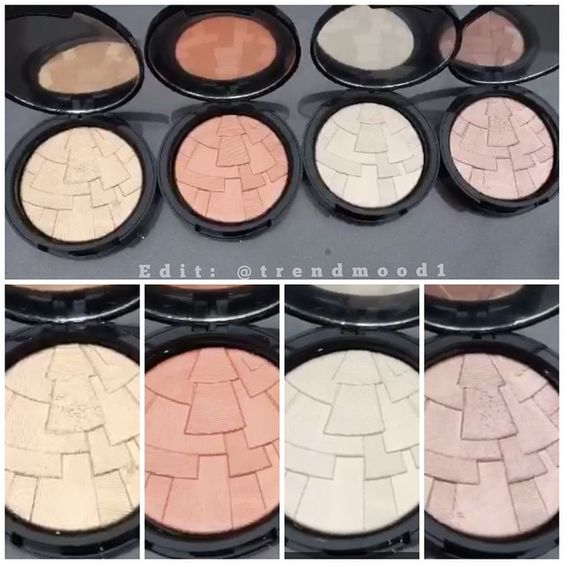 here are all 4 illuminators by anastasia beverly hills. Black Bedroom Furniture Sets. Home Design Ideas