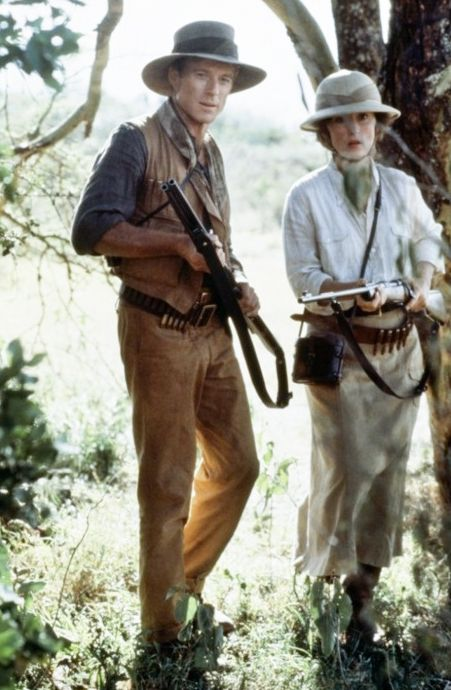 Robert Redford and Meryl Streep // 'Out of Africa' (1985)