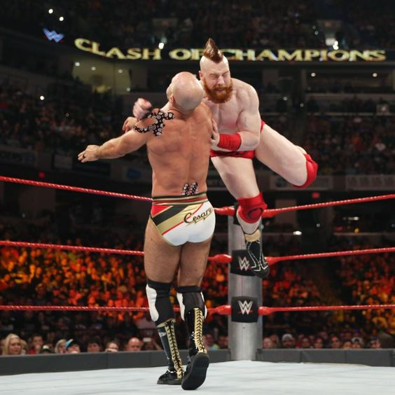 Cesaro and Sheamus conclude their Best of Seven Series at WWE Clash of Champions.