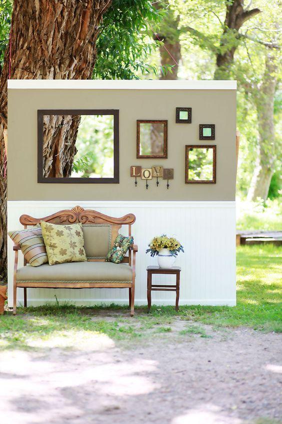 Amy's photo wall // courtesy of Studio K Photography: