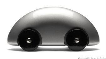 Streamliner silver - Playsam