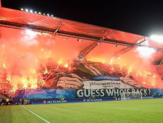 UEFA hits Legia Warsaw with 6 counts of crowd trouble vs. Dortmund