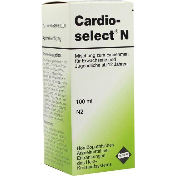 CARDIOSELECT N Tropfen:   Packungsinhalt: 100 ml Tropfen PZN: 00480023 Hersteller: Dreluso-Pharmazeutika Dr.Elten & Sohn GmbH Preis:…