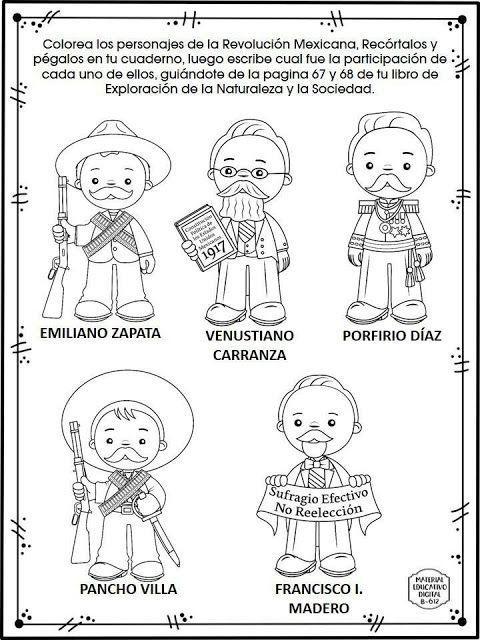 Colorear Dibujos Infantiles Miguel Hidalgo Colorear Grito De Dolores Mexico Revolucion Mexicana Para Ninos Revolucion Mexicana Revolucion De Mexico