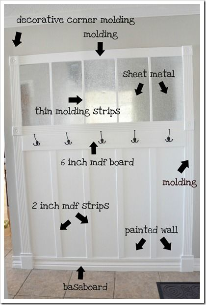 mudroom: Bulletin Board, Sheet Metal, Mudrooms, Mud Rooms, Mudroom Ideas, Entryway, Laundry Room, Organizational Board