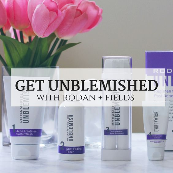 4 Steps to Clear Skin with Rodan + Fields UNBLEMISH skincare regimen. Check out the before and after pictures and you will see why You NEED this regimen |Makeup Life and Love