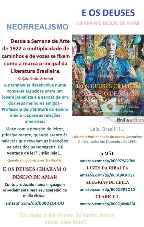 FREE/BAIXE GRATIS. E OS DEUSES CRIARAM O DESEJO DE AMAR/Welington A Pinto:http://amazon.com/dp/B00OZC4HJO       Gr@tis Kindle Unlimited