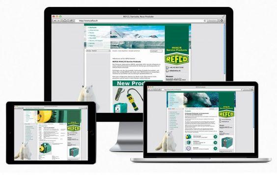 2009 ging die neue REFCO-Website online. Die Website ist in mehrere Sprachen übersetzt. Aufgrund unterschiedlicher Produkte für Europa und USA kann über die Navigation eine regionale Auswahl getroffen werden.