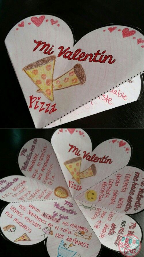 spanish valentine 39 s day mi valentin foldable activity spanish student and activities. Black Bedroom Furniture Sets. Home Design Ideas