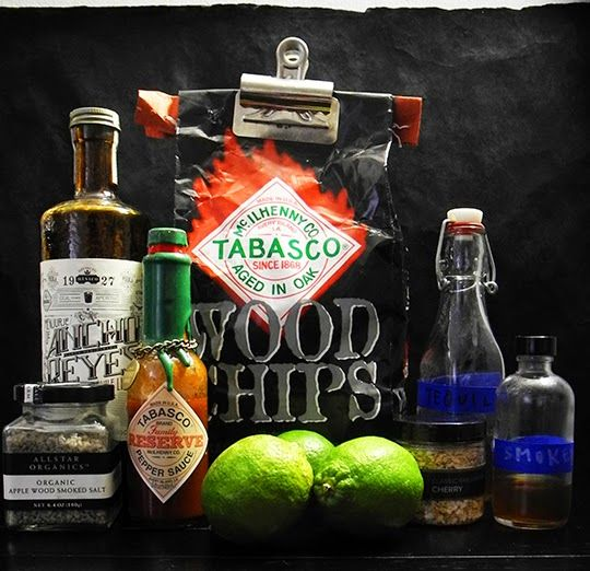 Gastronomista: Thrice Smoked Margarita - Smoke & Spice Three Ways