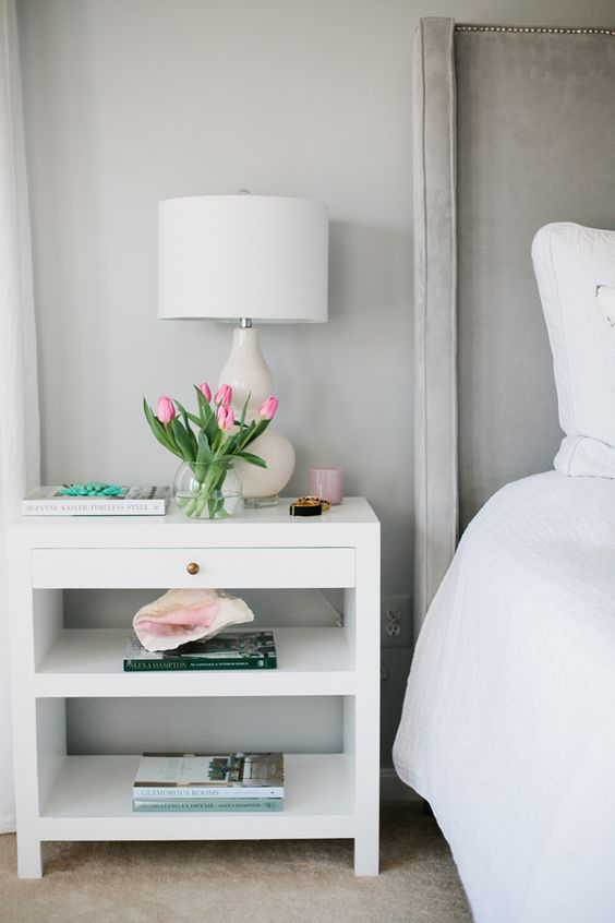 simple bedside table: