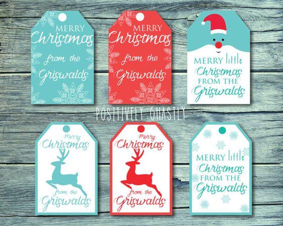 ... gifts christmas gift tags gift tags christmas gifts tags etsy