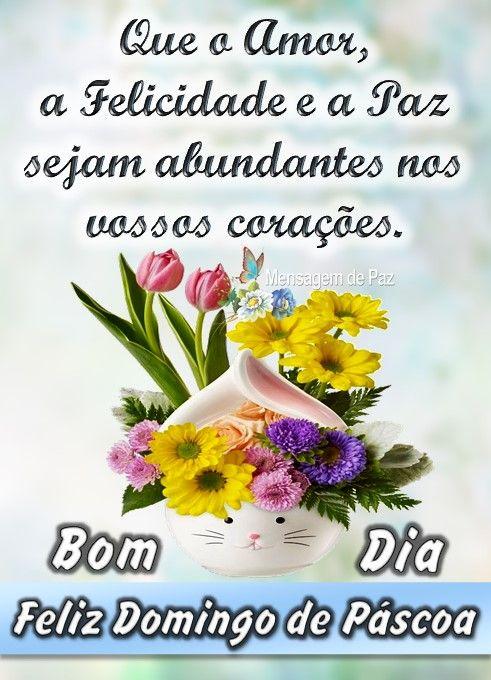 Bom Dia Feliz Domingo De Pascoa Bom Dia Feliz Domingo Dia