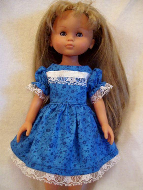 Corolle Les Cheries Doll Clothes, Fleur Bleue Dress Set, fits 13-14inch Dolls