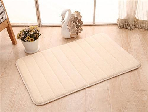 Ultra Thin Mats Will Fit Under Almost Any Door They Are Lightweight 100 Machine Washable The High Quality Cotton Structure Ab In 2020 Foam Mats Memory Foam Absorbent