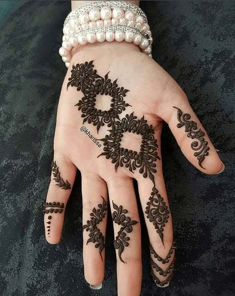 Best And Stunny New Mehndi Design Collection For Wedding Marwari