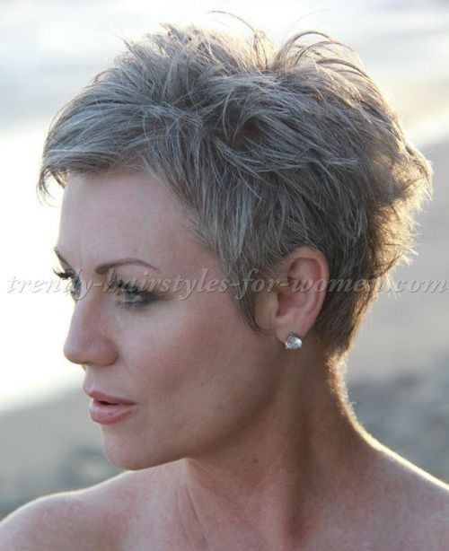 Pixie Haircuts For Gray Hair Brilliant Best 25 Short Hairstyles Over 50 Ideas On Pinterest Of 40 Delight Short Hair Styles Short Hairstyles Over 50 Hair Styles