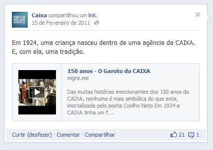 CAIXA:  Internet Site,  Website, Web Site