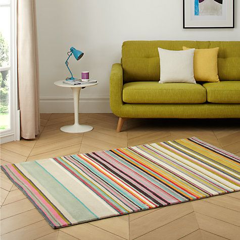 Buy Fresh Pastel Stripe Rugs Online at johnlewis.com