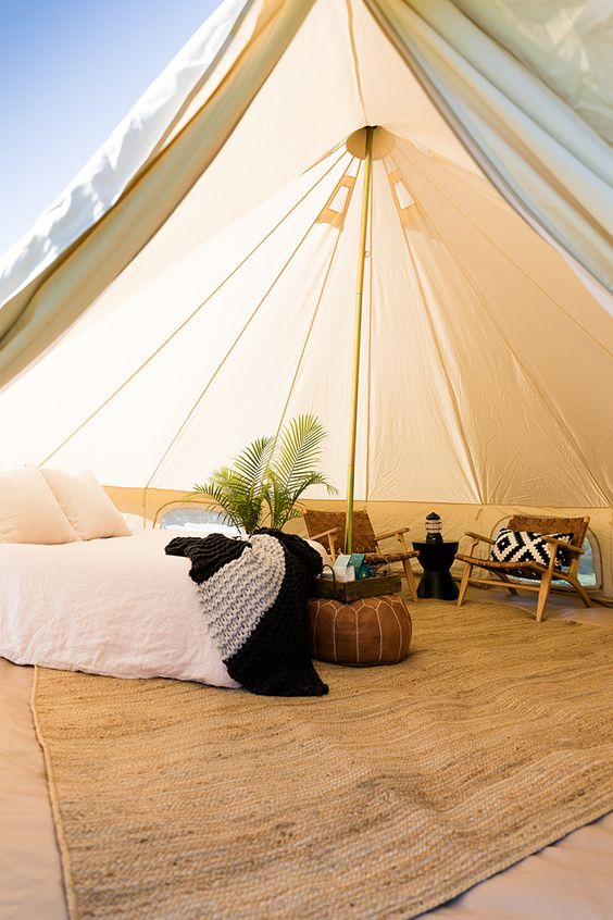 The Glamping Tent of Your Dreams