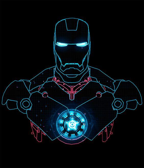 Camiseta Iron Man. Silueta Mark | Pinterest | Ink, Cats ...