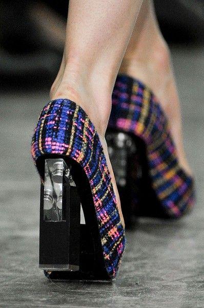 #NicholasKirkwood pour #Erdem lucite #heels #shoes fall 2012 #fashion