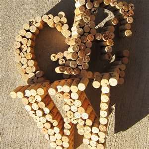 Great idea to keep your wine corks.