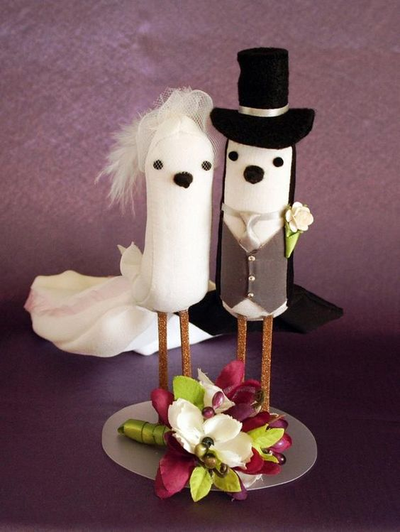 7 Adorable DIY Cake Toppers >> http://www.diynetwork.com/decorating/diy-weddings-cake-topper-ideas-and-projects/pictures/index.html?soc=pinterest