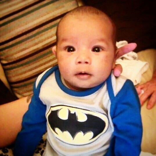 My son is BatBoy thats right im Batman