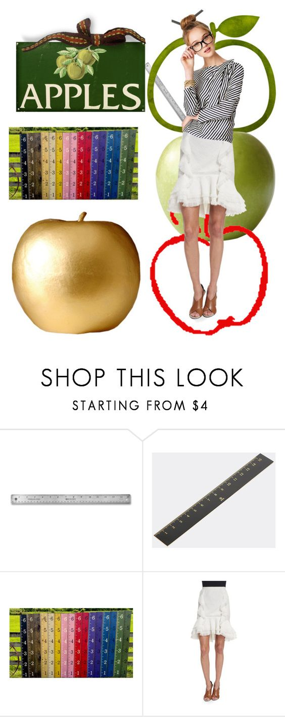 """""""2 each we teach"""" by lerp ❤ liked on Polyvore featuring ystudio and Jason Wu"""