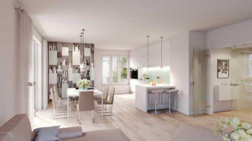 Moderne Einrichtung In Weissen Tonen Penthouse Immobilienmarkt Faz Net Mit Bildern Wohnung Kaufen Wohnung Wohnen