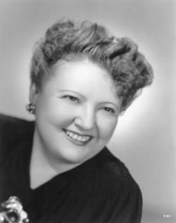 Vera West, 1900-1947. Costume designer for many Rathbone/Bruce films