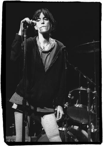 Patti Smith Bottom Line NYC 1976/ Stephanie Chernikowski