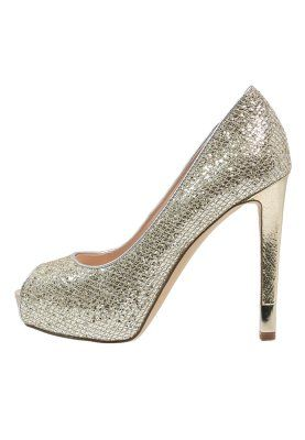 HADIELY - Plateaupumps - silver