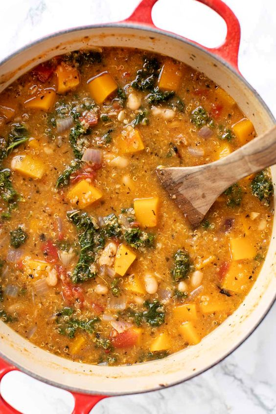 Tuscan Kale White Bean Stew