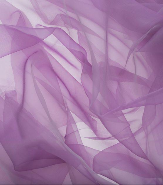 SUEDEsays Fabric - Sheer Ribbon Organza Hollyhock