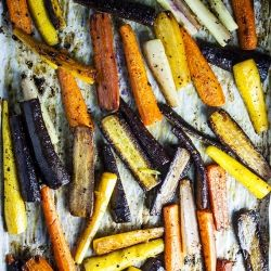 Try this foolproof recipe for the Best Roasted Carrots {paleo, gluten-free, vegan, vegetarian recipe}