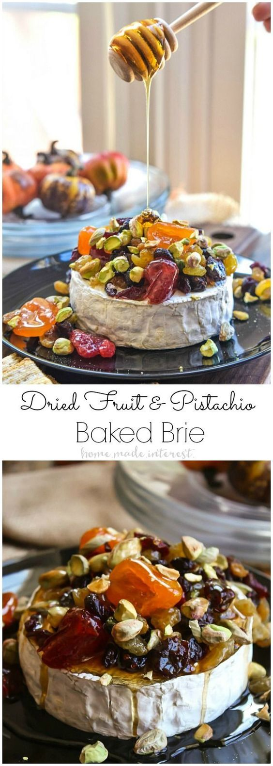 Dried Fruit And Pistachio Baked Brie Recipe Cucumber