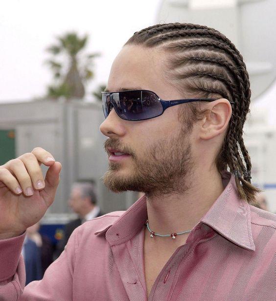 man long haircut, Medium Sized Cornrows